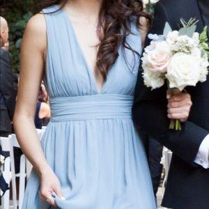 Lulu's Heavenly Hues light blue maxi dress